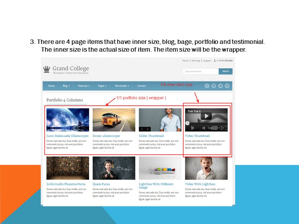 PAGE TOP SLIDER 1Before you can use slider, you have to have images in media library.