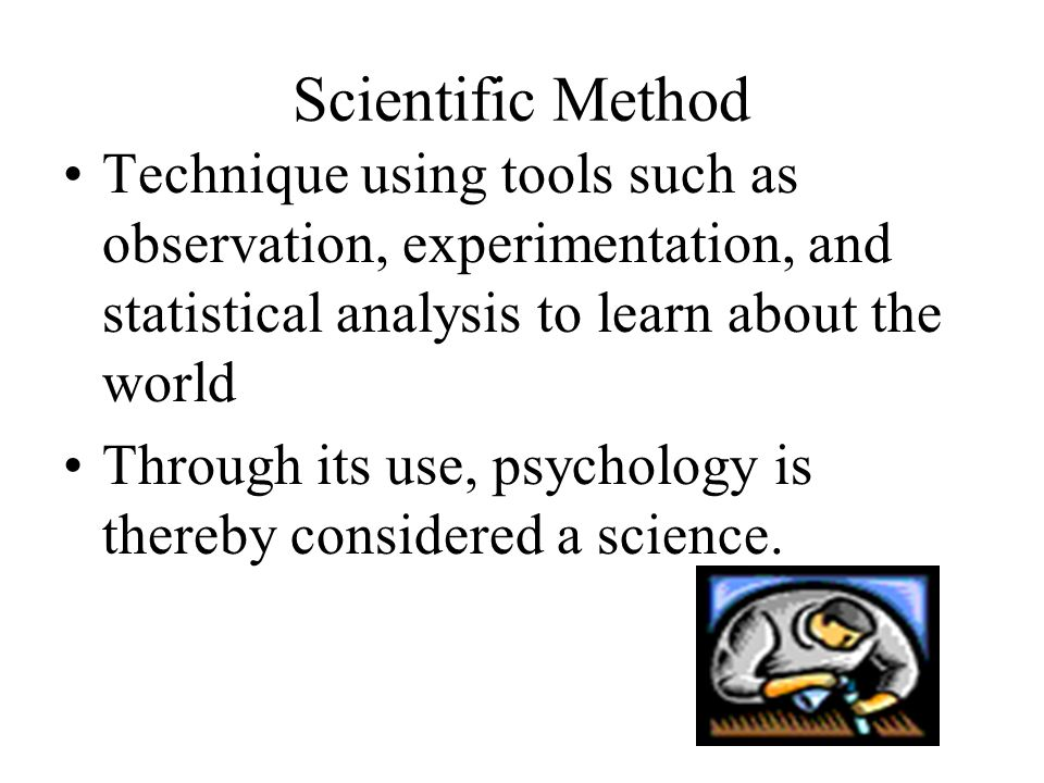 Research and Research Methodology Method of asking questions then drawing logical supported conclusions Researchers need to be able to determine if conclusions are reasonable or not (critical thinking).