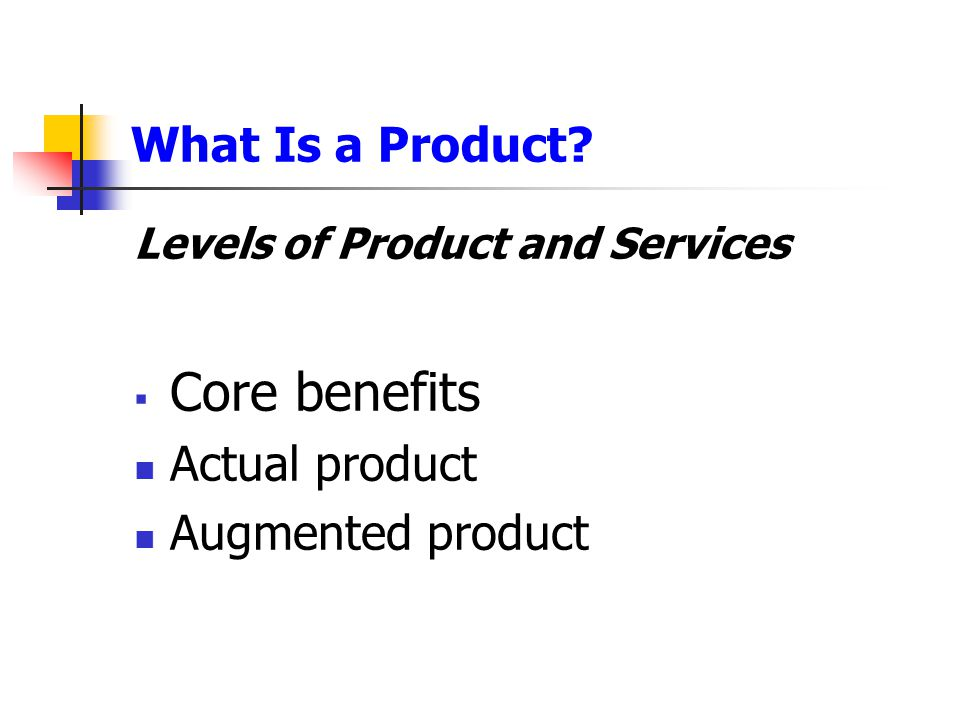 Product and Service Decisions Product Line Decisions Product line stretching is when a company lengthens its product line beyond its current range  Downward  Upward  Combination of both