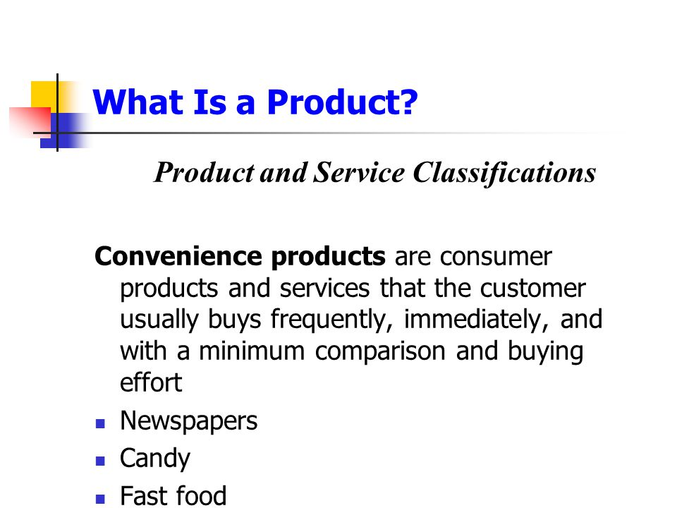 Product and Service Decisions Product Mix Decisions Product mix consists of all the products and items that a particular seller offers for sale  Width  Length  Depth  Consistency
