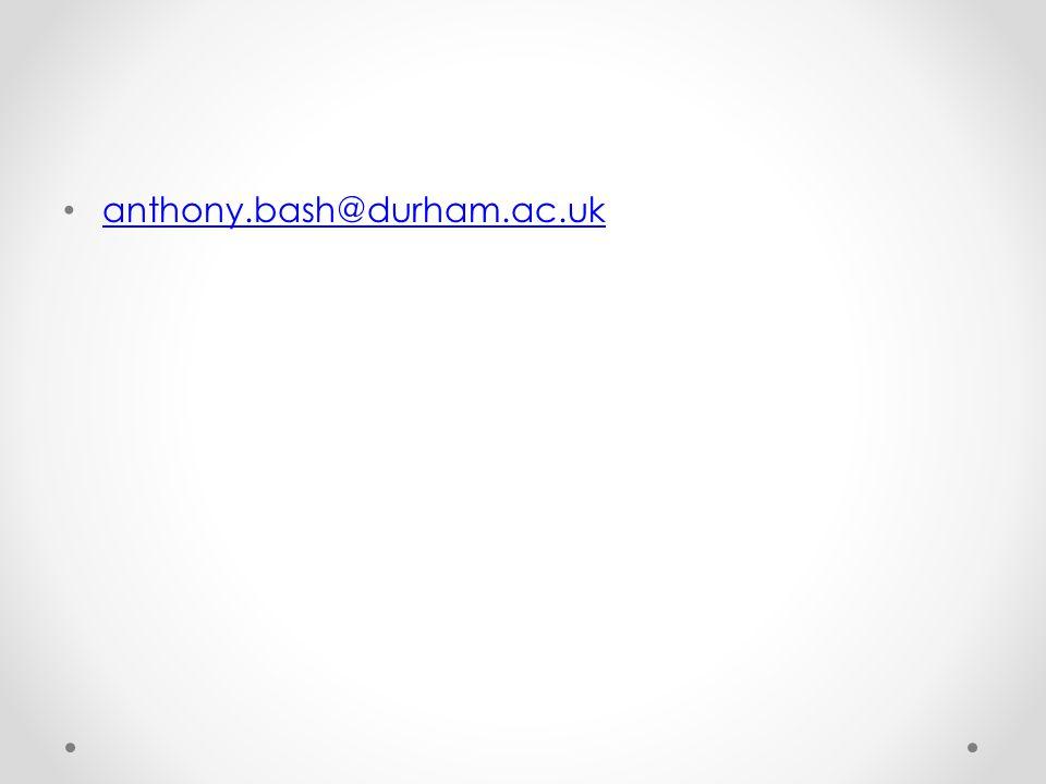 anthony.bash@durham.ac.uk