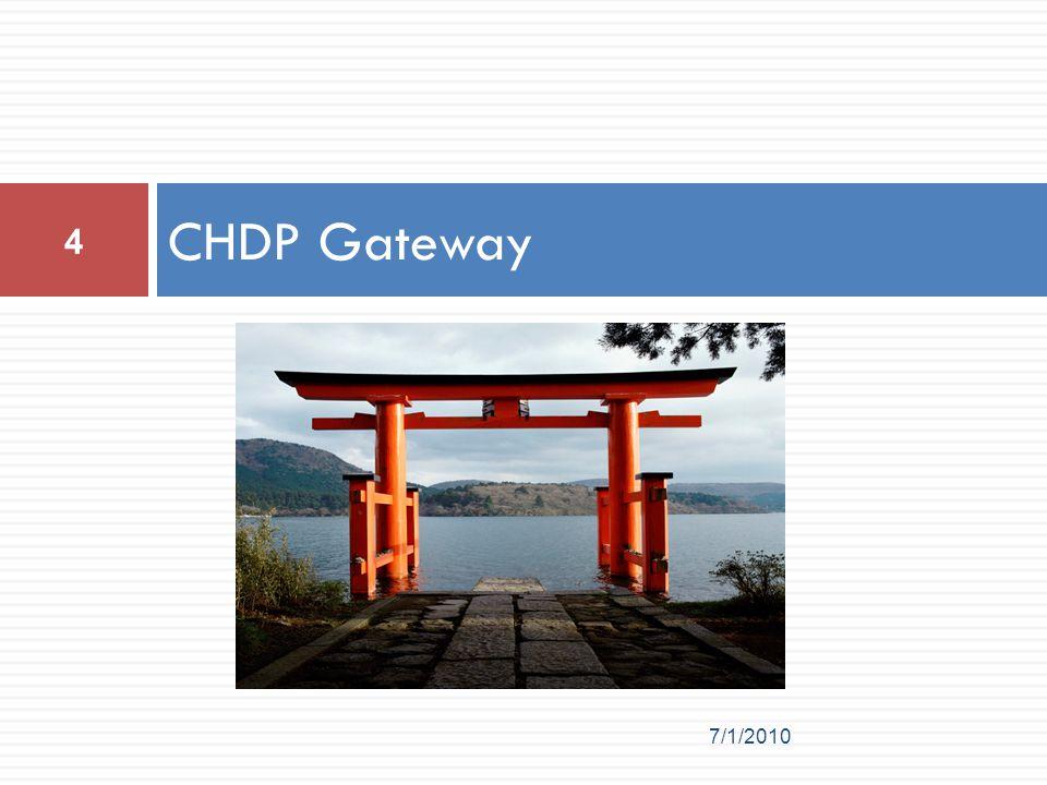 CHDP Gateway 7/1/2010 4