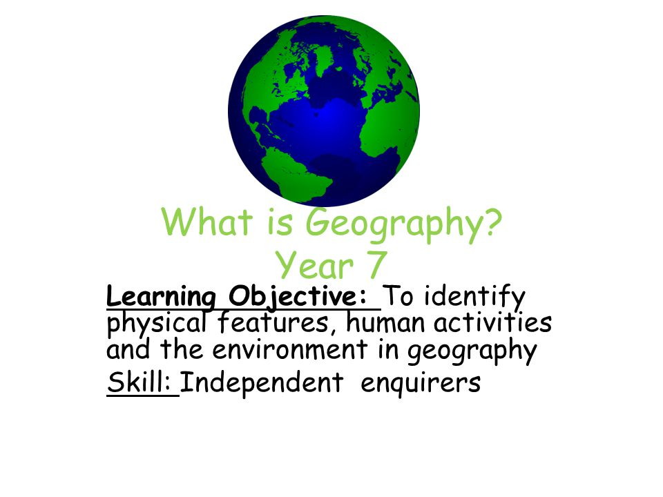 Human Geography Dissertation Ideas