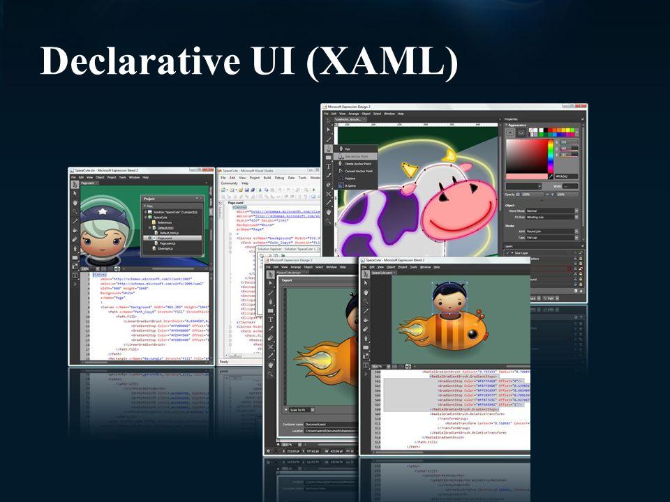 Declarative UI (XAML)
