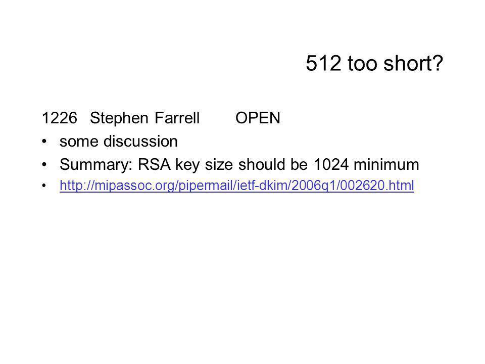 512 too short.