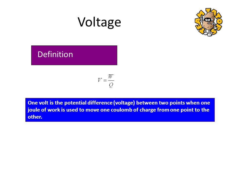 Voltage is responsible for establishing current.