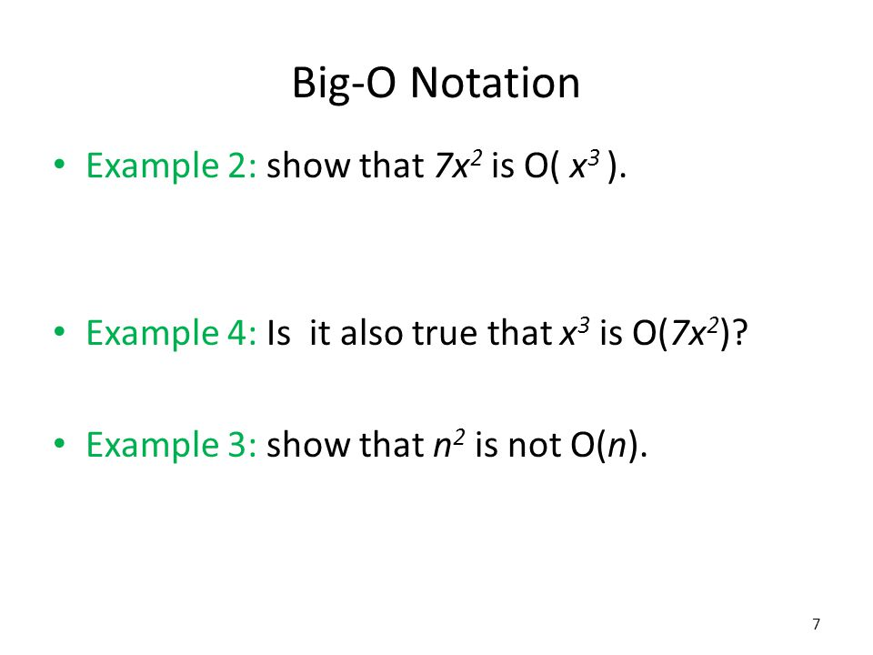 Little-O Notation An alternative for those with a calculus background: Definition: if then f is o(g), called little-o of g.