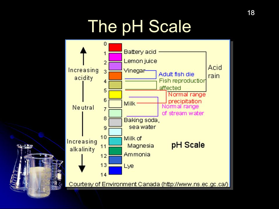 The pH Scale 18