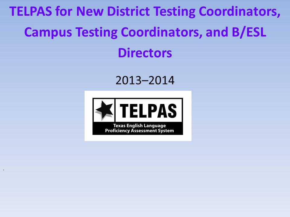 ELPS-TELPAS Proficiency Level Descriptors Grades K–1 Reading TEA32