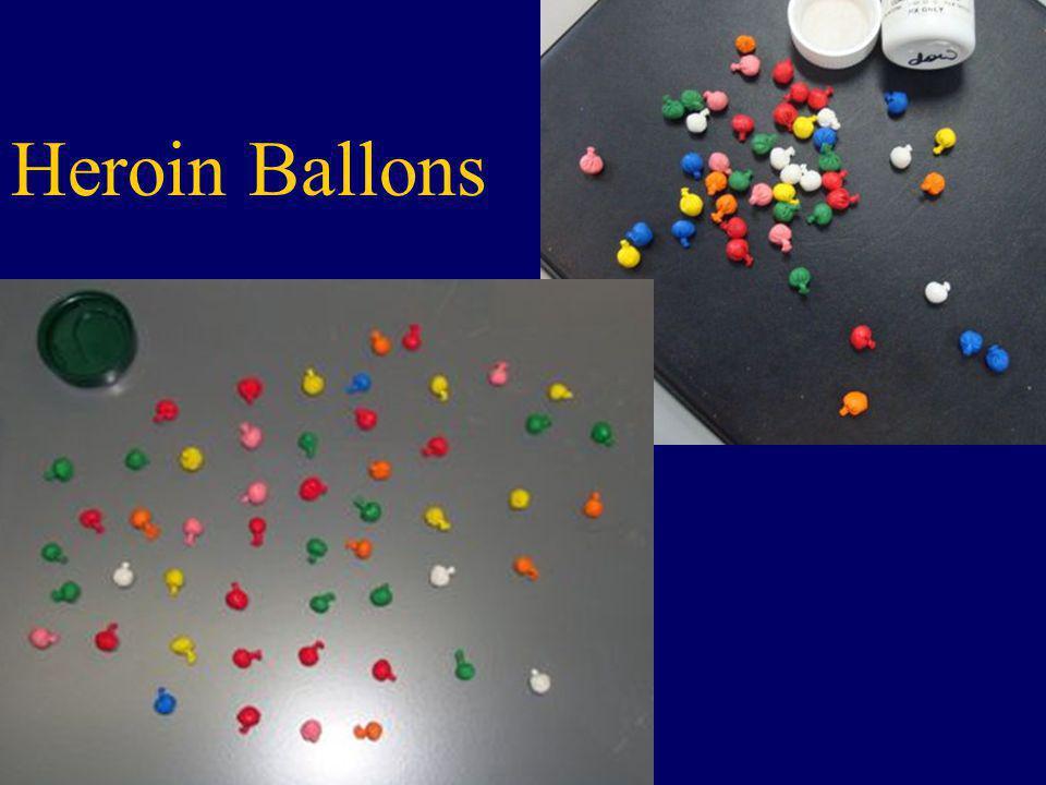 Heroin Ballons