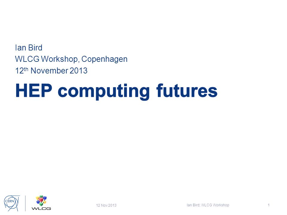 Long Term strategy HEP computing needs a forum where these strategic issues can be coordinated since they impact the entire community: -Build on leadership in large scale data management & distributed computing – make our experience relevant to other sciences – generate long term collaborations and retain expertise -Scope and implementation of long term e-infrastructures for HEP – relationship with other sciences and funding agencies -Data preservation & reuse, open and public access to HEP data -Significant investment in software to address rapidly evolving computer architectures is necessary -HEP must carefully choose where to invest our (small) development effort – high added value in-house components, while making use of open source or commercial components where possible -HEP collaboration on these and other key topics with other sciences and industry July 17, 2013 Ian.Bird@cern.ch22