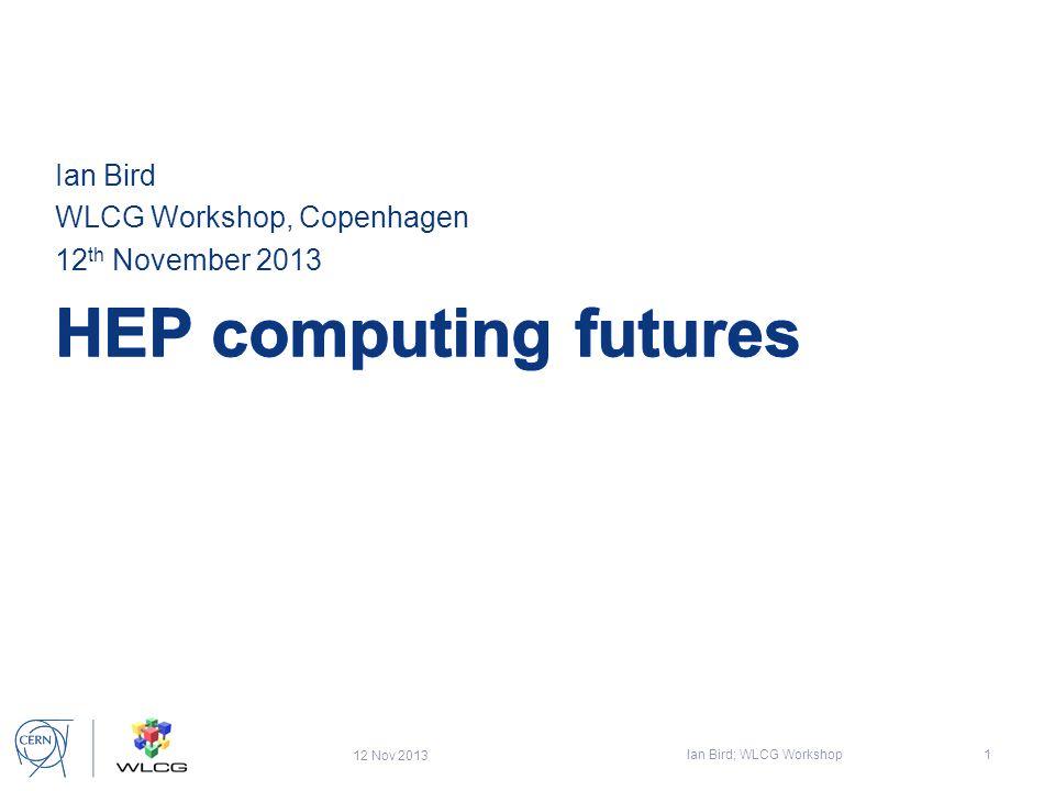 Predrag Buncic, October 3, 2013 ECFA Workshop Aix-Les-Bains - 12 LHCb & ALICE @ Run 3 40 MHz 5-40 MHz 20 kHz (0.1 MB/event) 2 GB/s Storage Reconstruction + Compression 50 kHz 75 GB/s 50 kHz (1.5 MB/event)  PEAK OUTPUT 