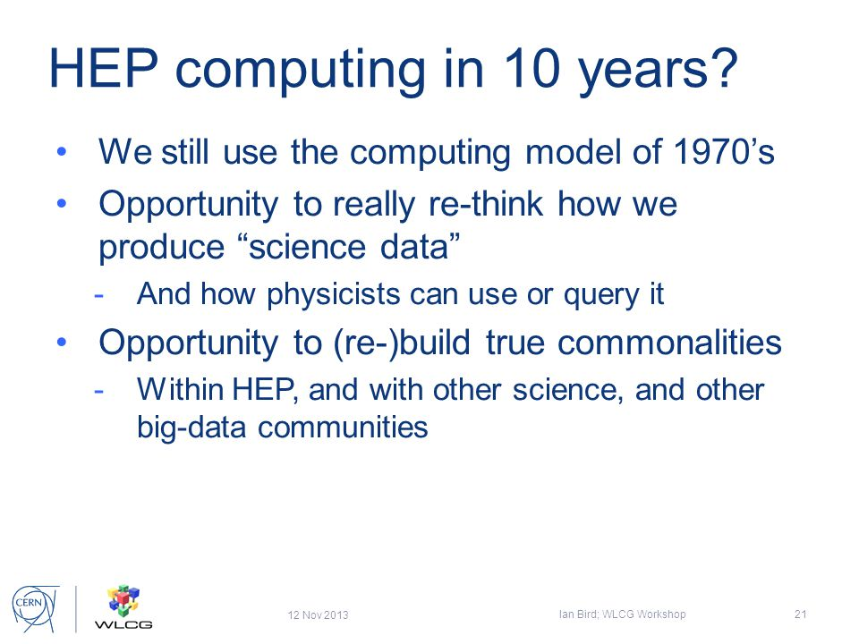 HEP computing in 10 years.