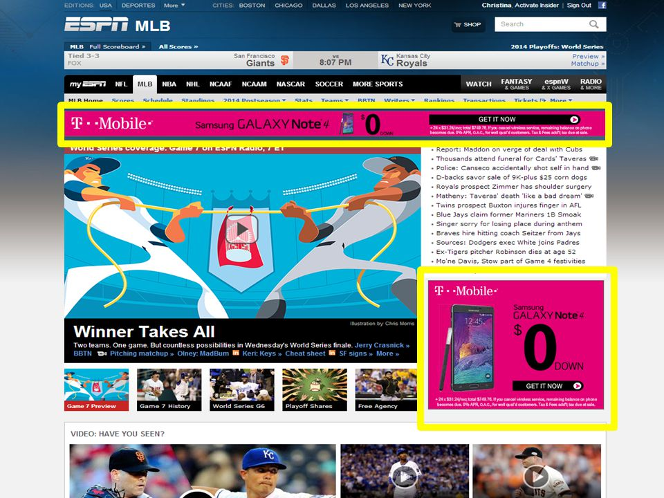 Unique Viewer Display & Mobile Ad Server Page View Display Ad Impressions