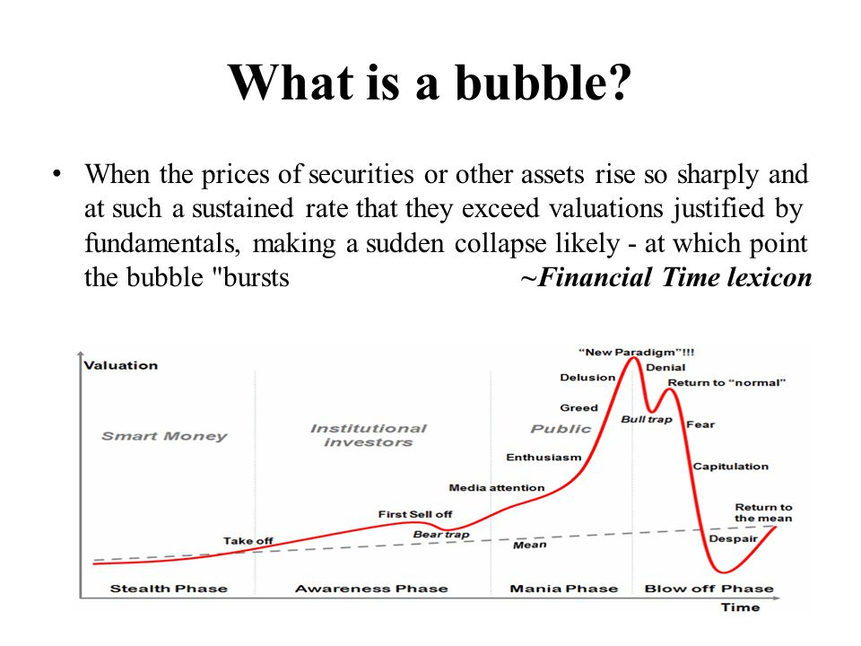 What is a bubble.