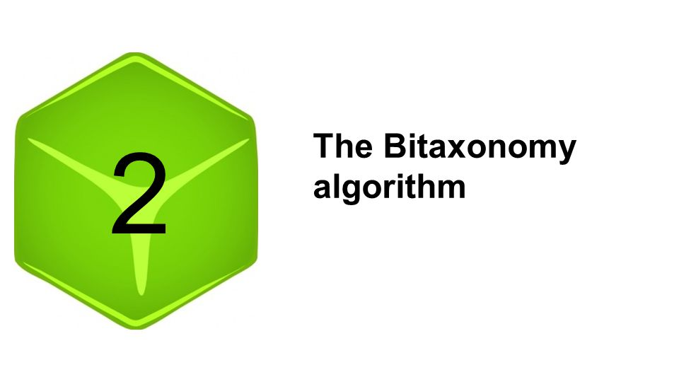 2 The Bitaxonomy algorithm