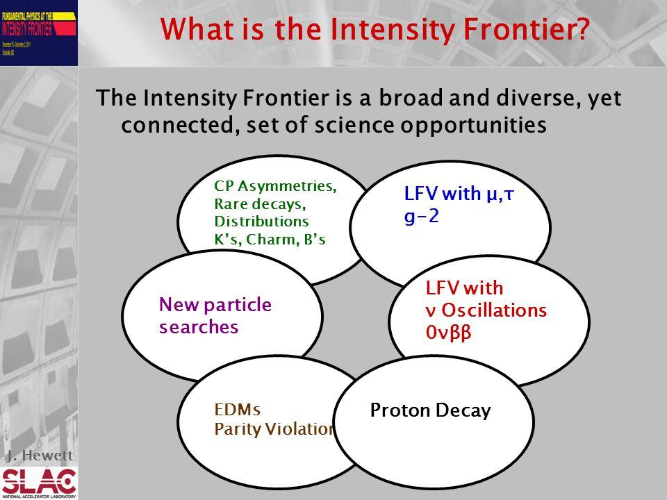J.Hewett What is the Intensity Frontier.