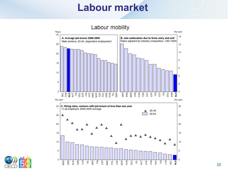 Labour market Labour mobility 25