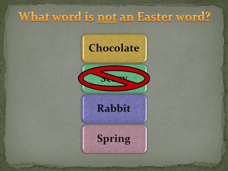 ChocolateScaryRabbitSpring