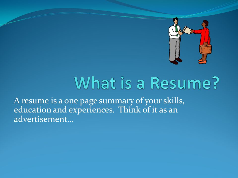 You only get one chance to make a first impression… How long do employers typically look at a resume.