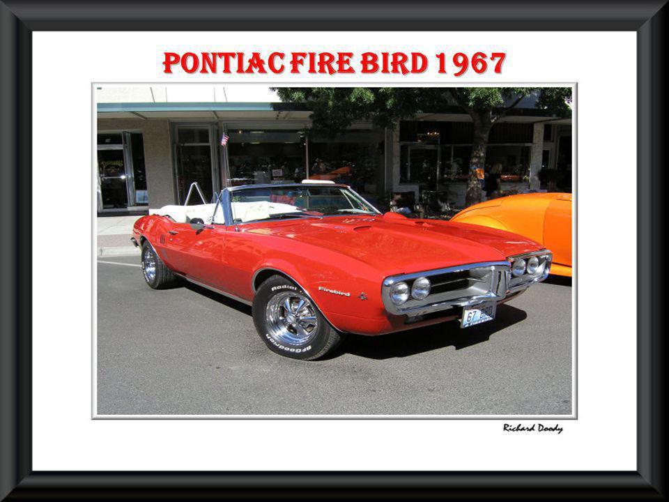 Pontiac fire bird 1967