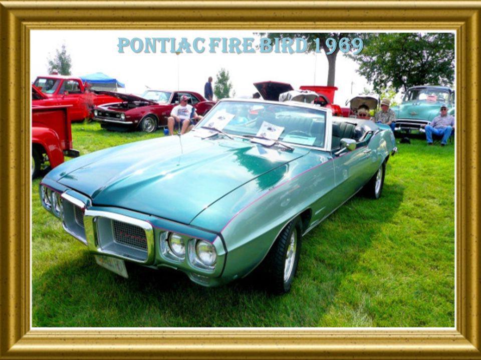 Pontiac fire bird 1969