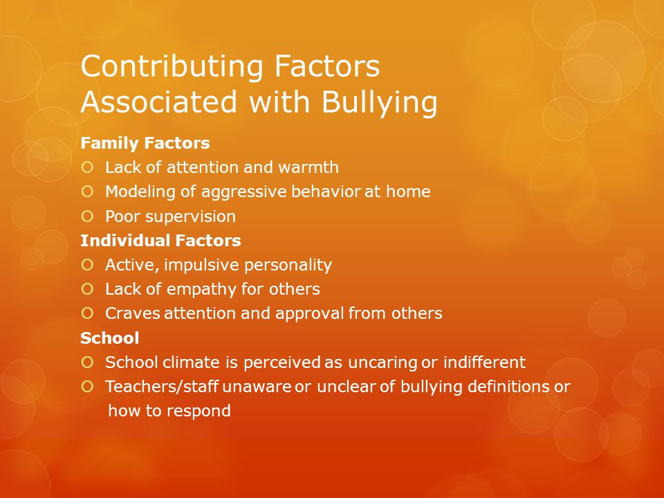 What To Do if you suspect your child is being bullied  Talk with your child  If your child is being bullied, they need to have a voice in how the situation is handled.