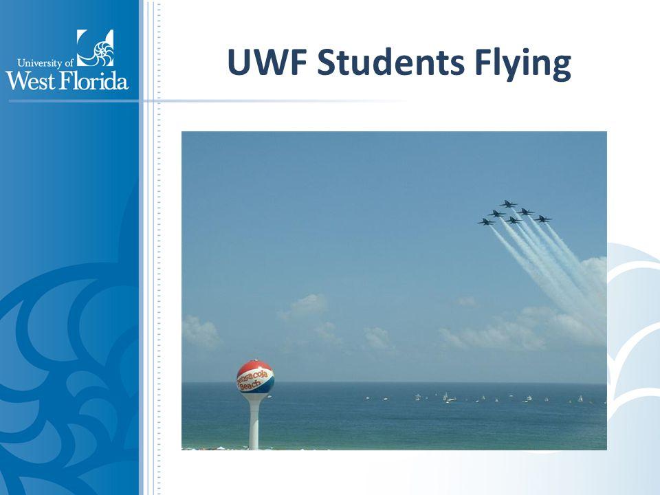 UWF Students Flying