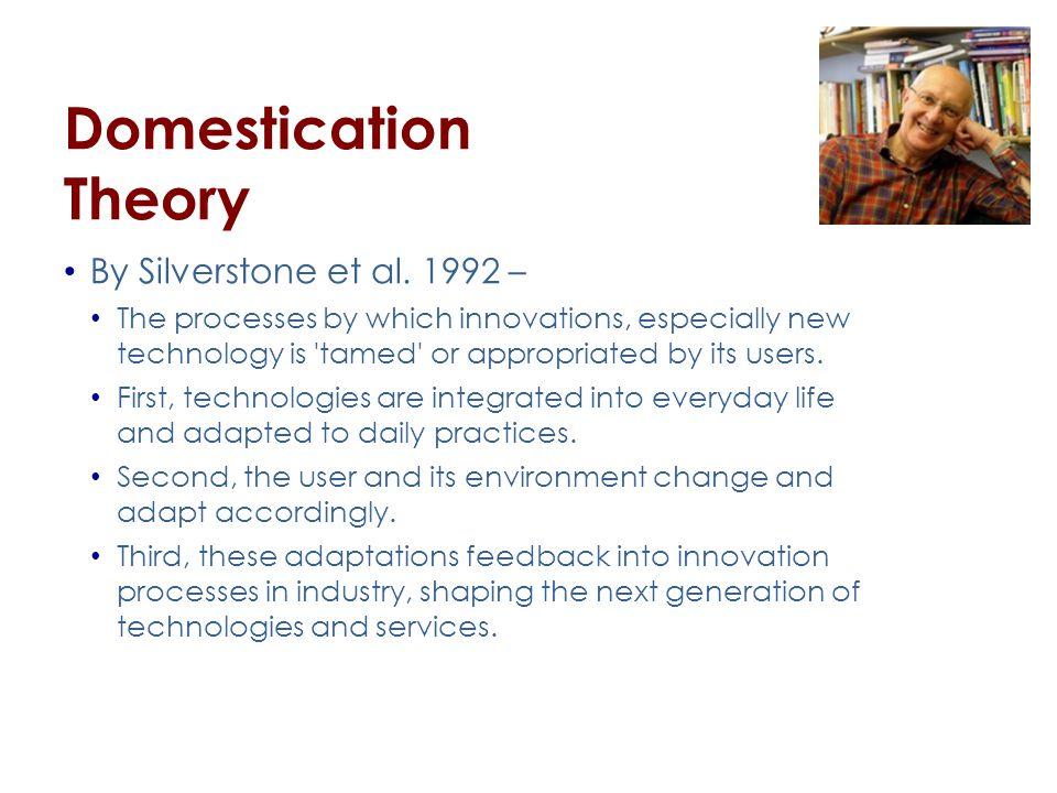 Domestication Theory By Silverstone et al.
