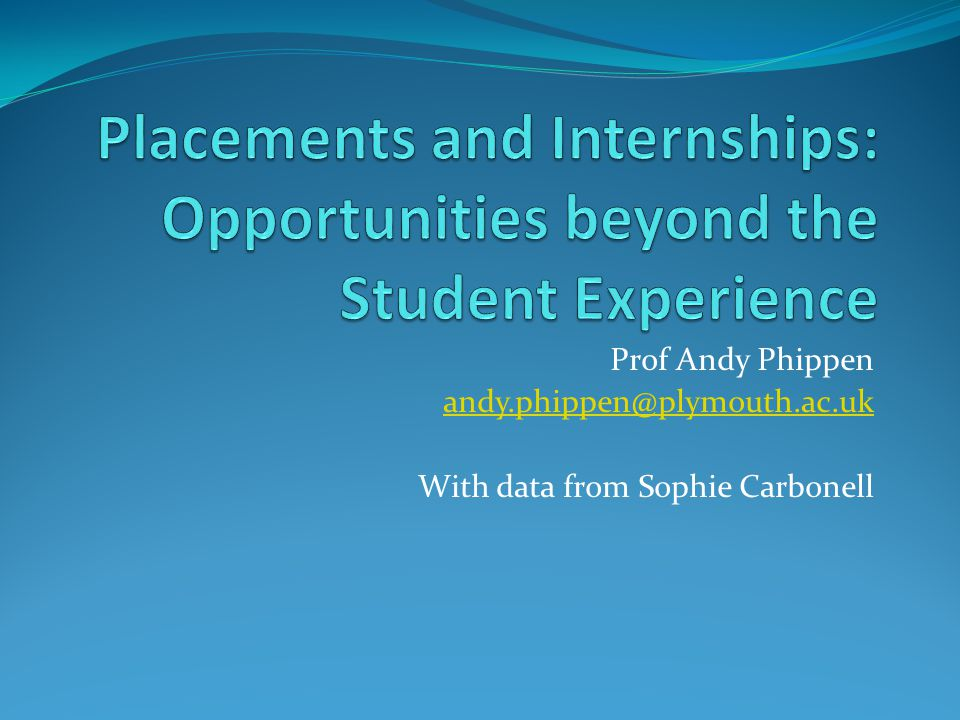 Prof Andy Phippen andy.phippen@plymouth.ac.uk With data from Sophie Carbonell