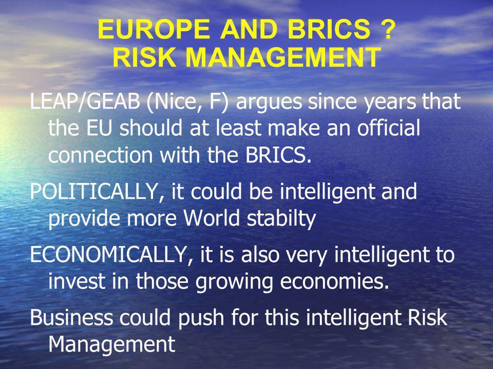 EUROPE AND BRICS .