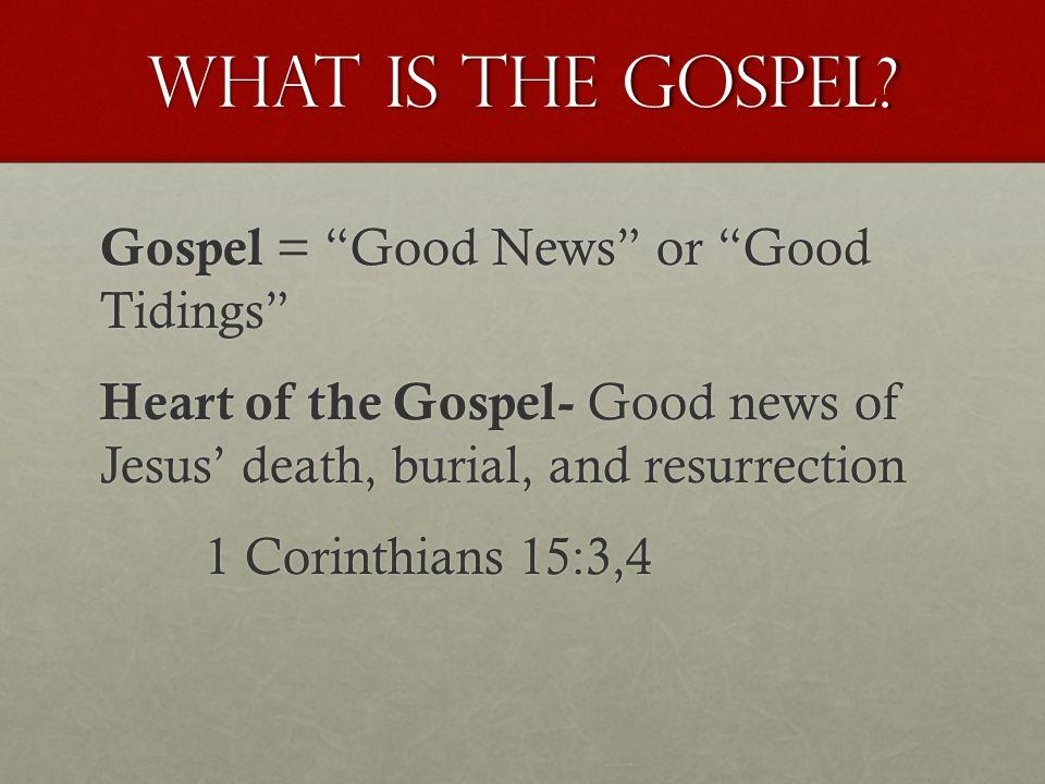 The Gospel GodManChristResponse