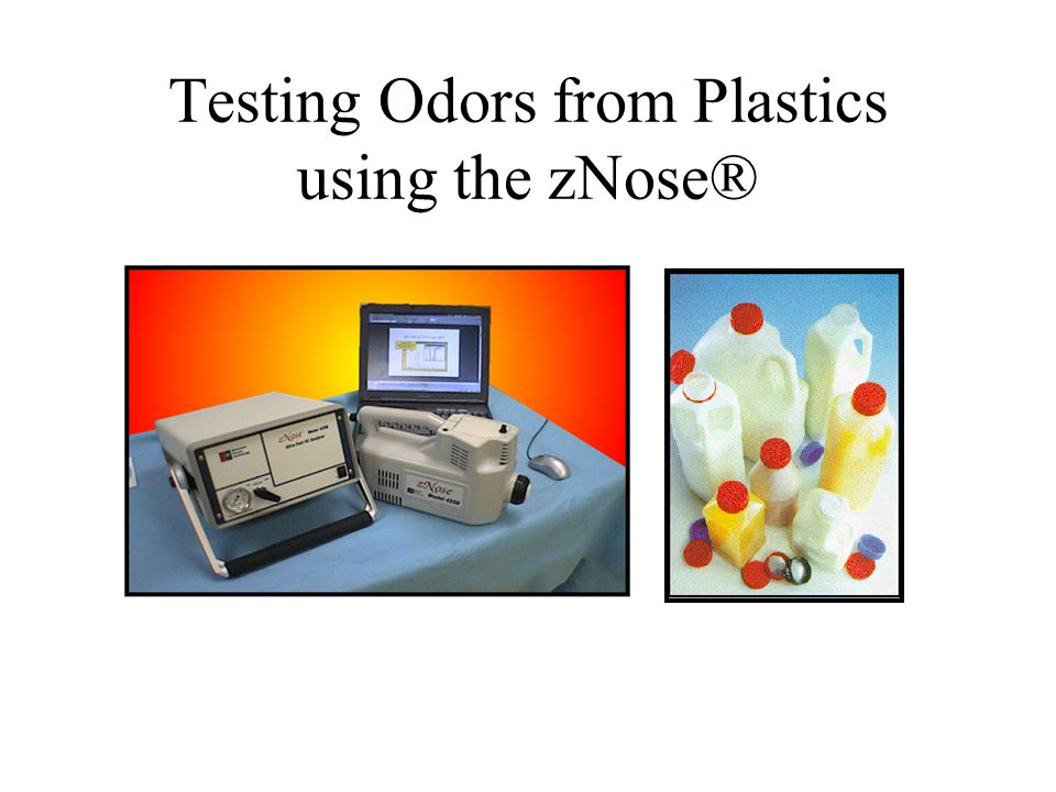 Testing Odors from Plastics using the zNose®