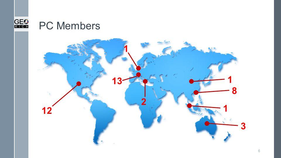 PC Members 6 1 1 1 3 13 2 8 12