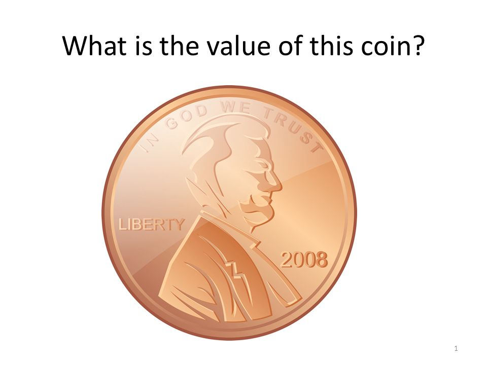 What is the value of this coin 1