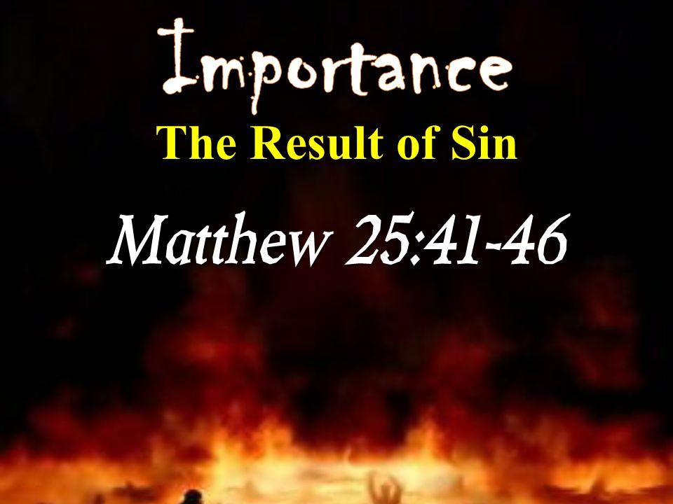 Matthew 25:41-46