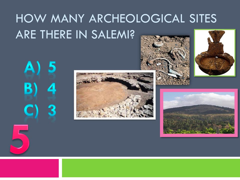 In which year was Salemi destroyed by an earthquake?  A) 1968  B) 1986  C) 1967