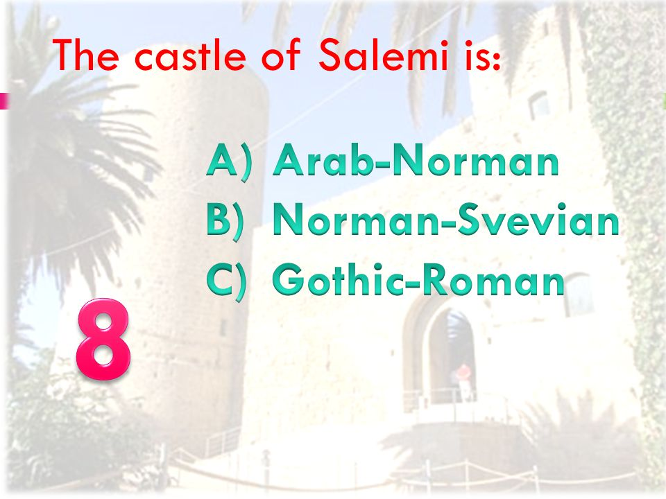 HOW MANY CHURCHES WERE THERE IN SALEMI BEFORE THE EARTHQUAKE OF 1968?