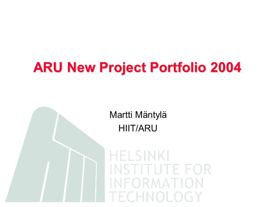Continuing Project Portfolio 2004