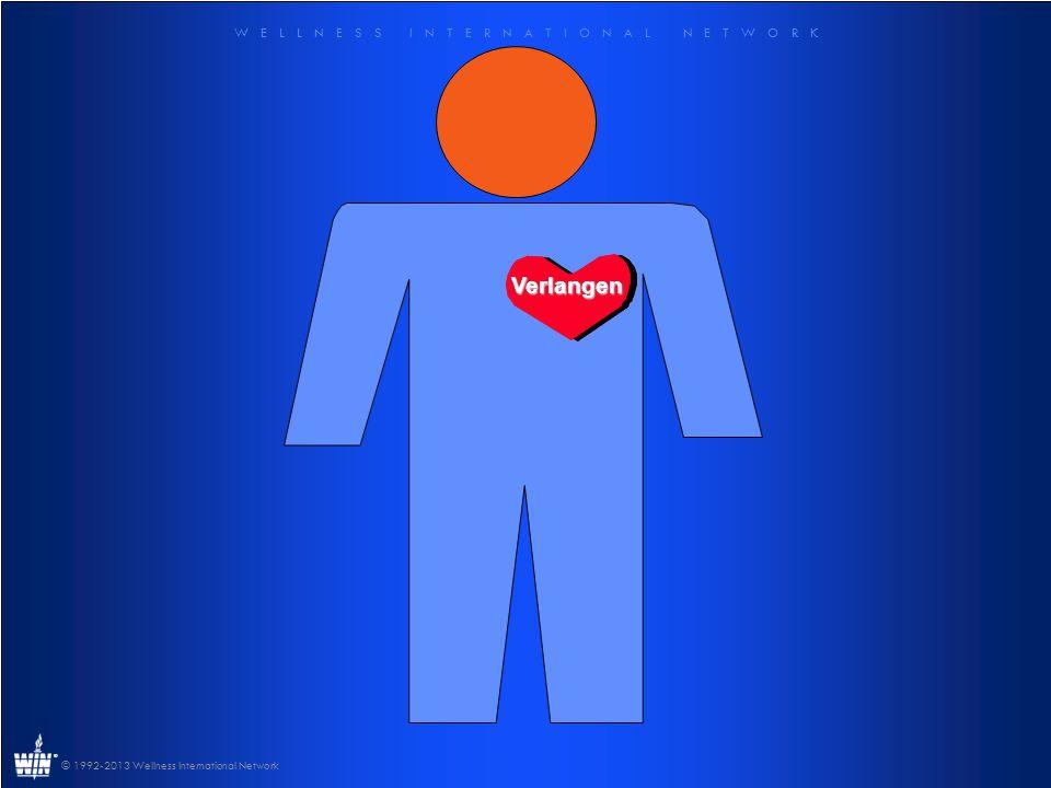 W E L L N E S S I N T E R N A T I O N A L N E T W O R K ® © 1992-2013 Wellness International Network Verlangenire Verlangen