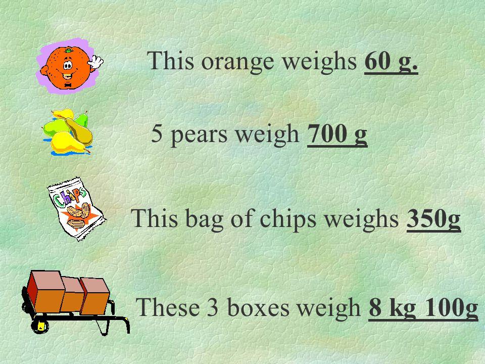 Ann weighs 35kg 150g Rick weighs 29kg 370g Helen weighs 43kg 200g 1.