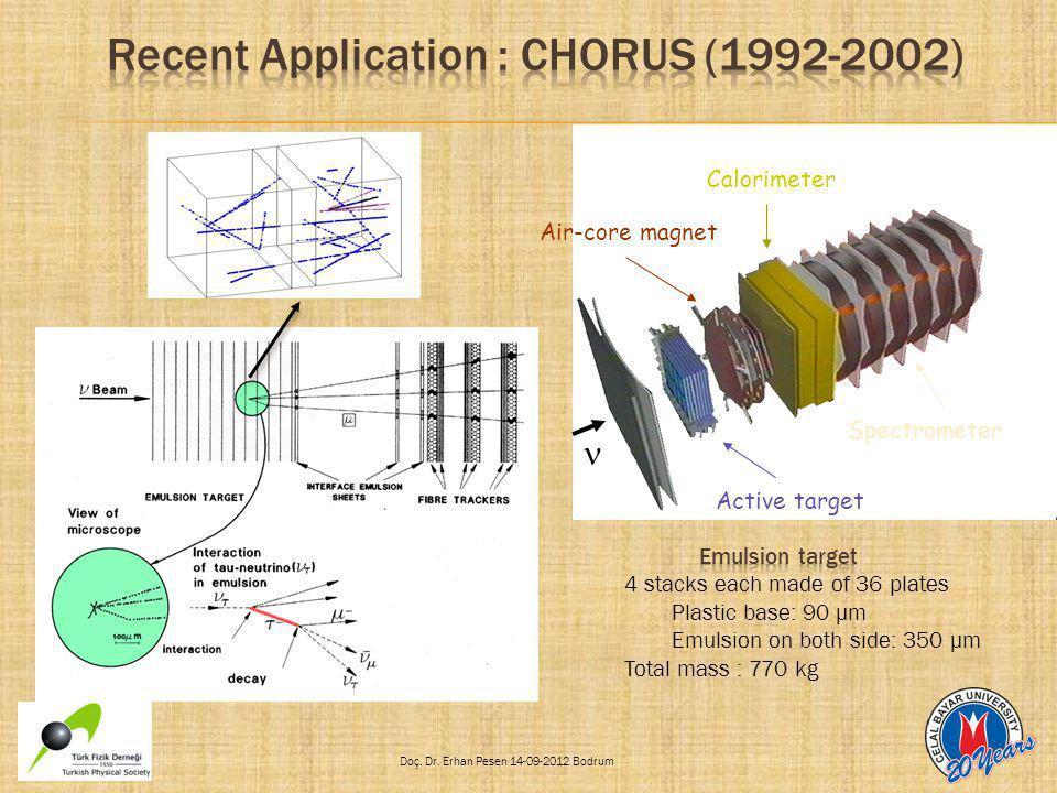 Active target Calorimeter Spectrometer Air-core magnet
