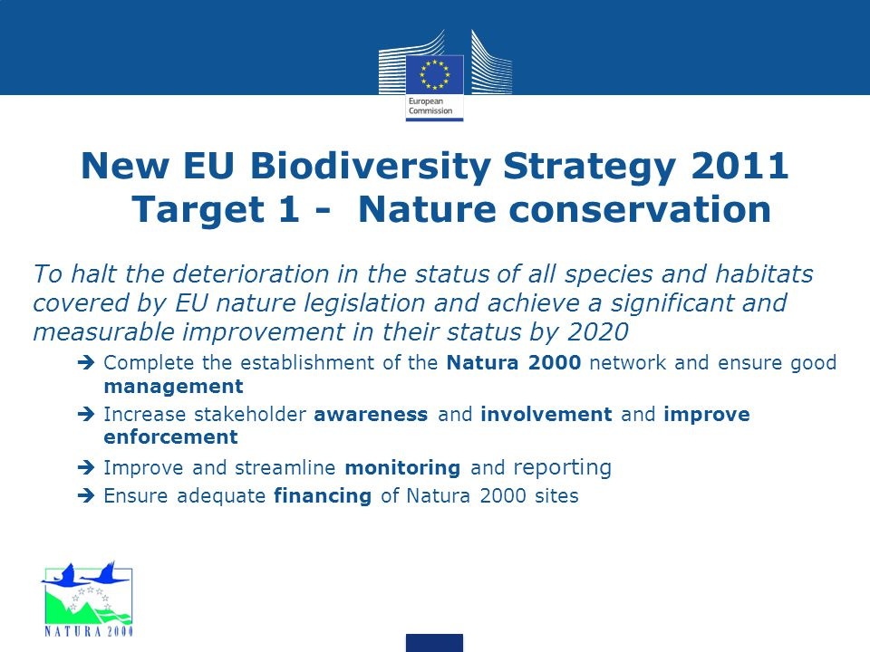 Introduction  1979: Birds Directive  Scope → all species of naturally occurring birds in the wild in the EU.