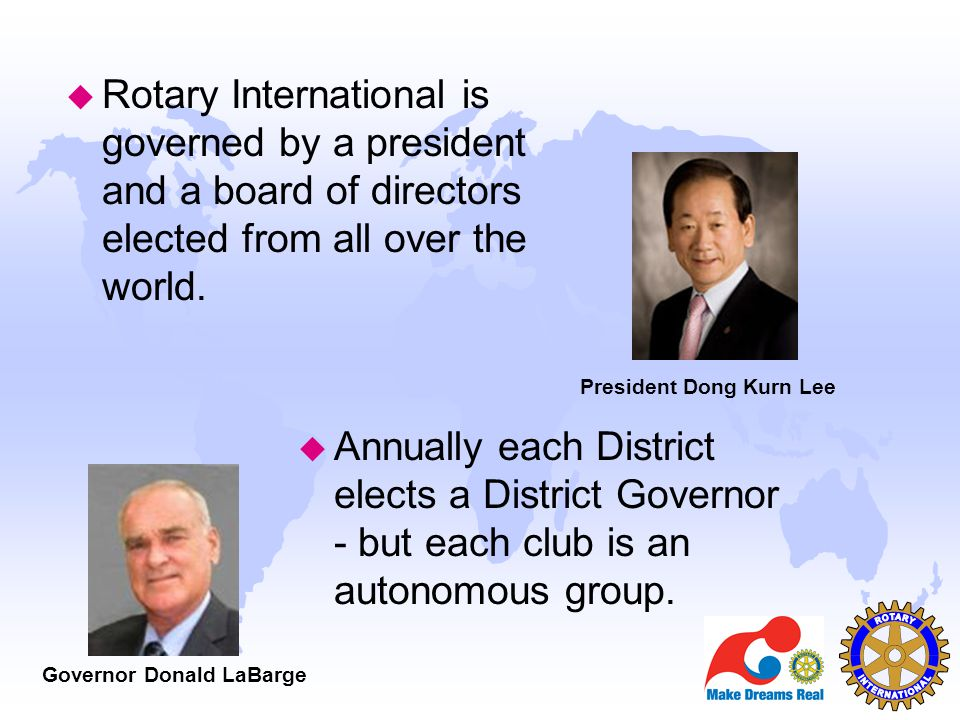 Above all, Rotary is Fun u A service club should be fun to be a part of even when the work is tiresome.