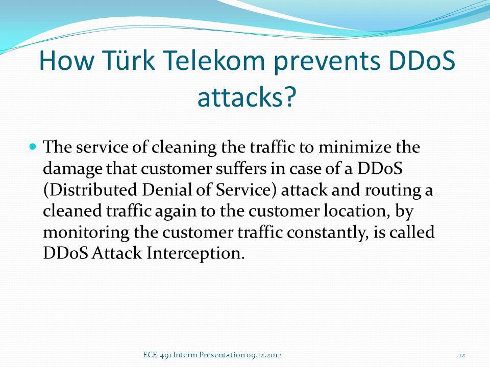 How Türk Telekom prevents DDoS attacks.