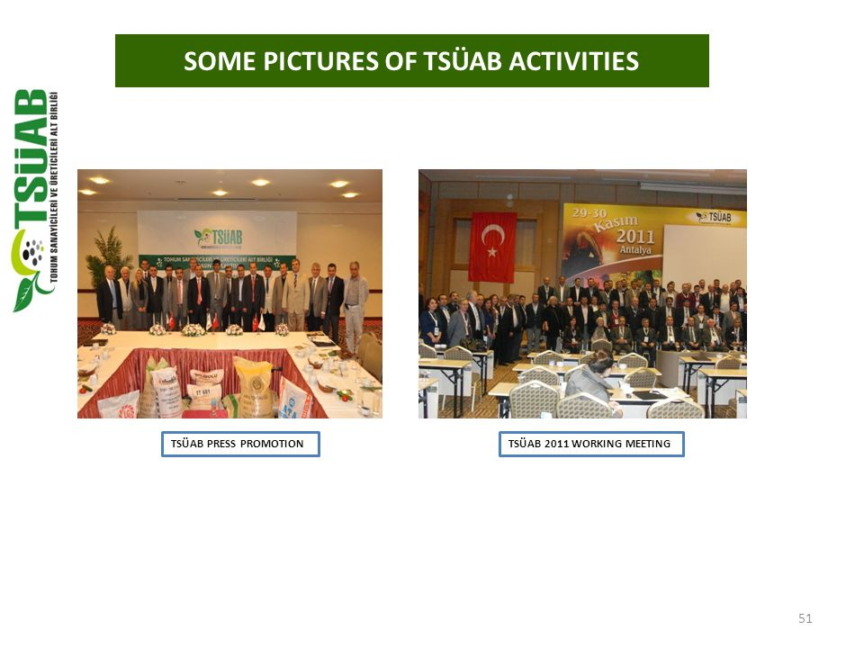 50 MINISTER OF TRADE HAYATİ YAZICI AT TSÜAB STAND AT HALSER FAIR SOME PICTURES OF TSÜAB ACTIVITIES TSÜAB AT HALSER FAIR