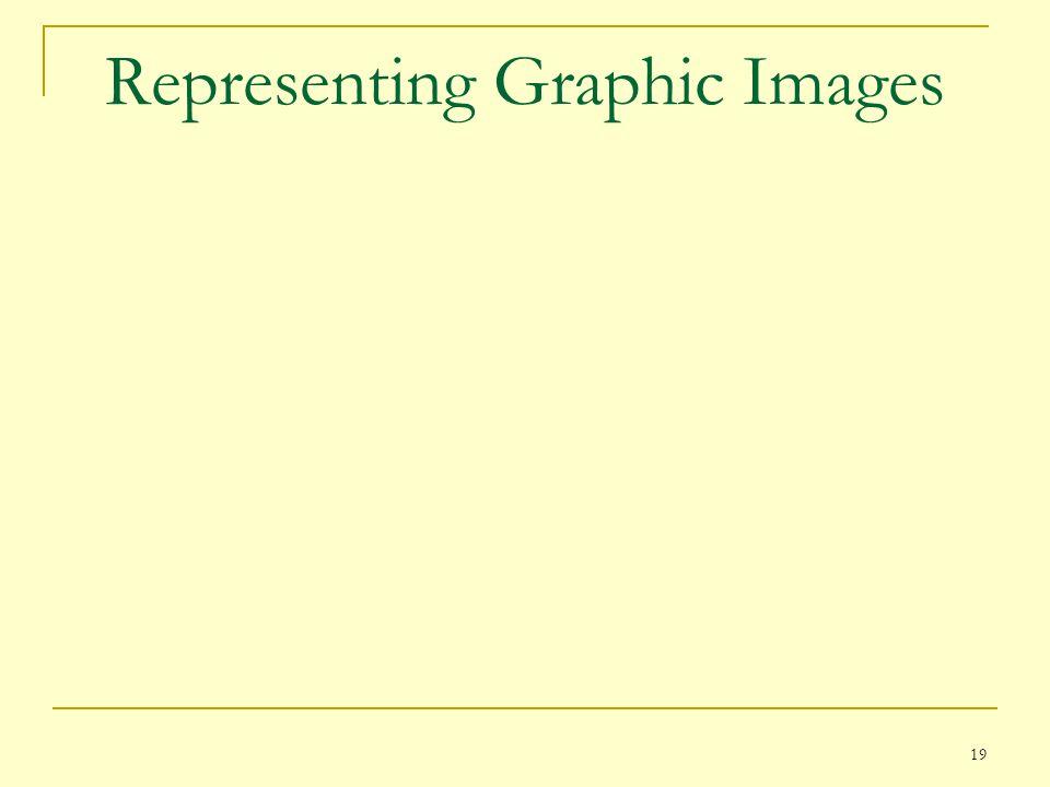 19 Representing Graphic Images