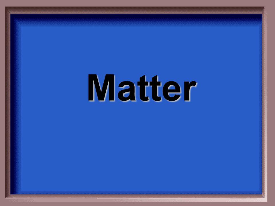 Matter