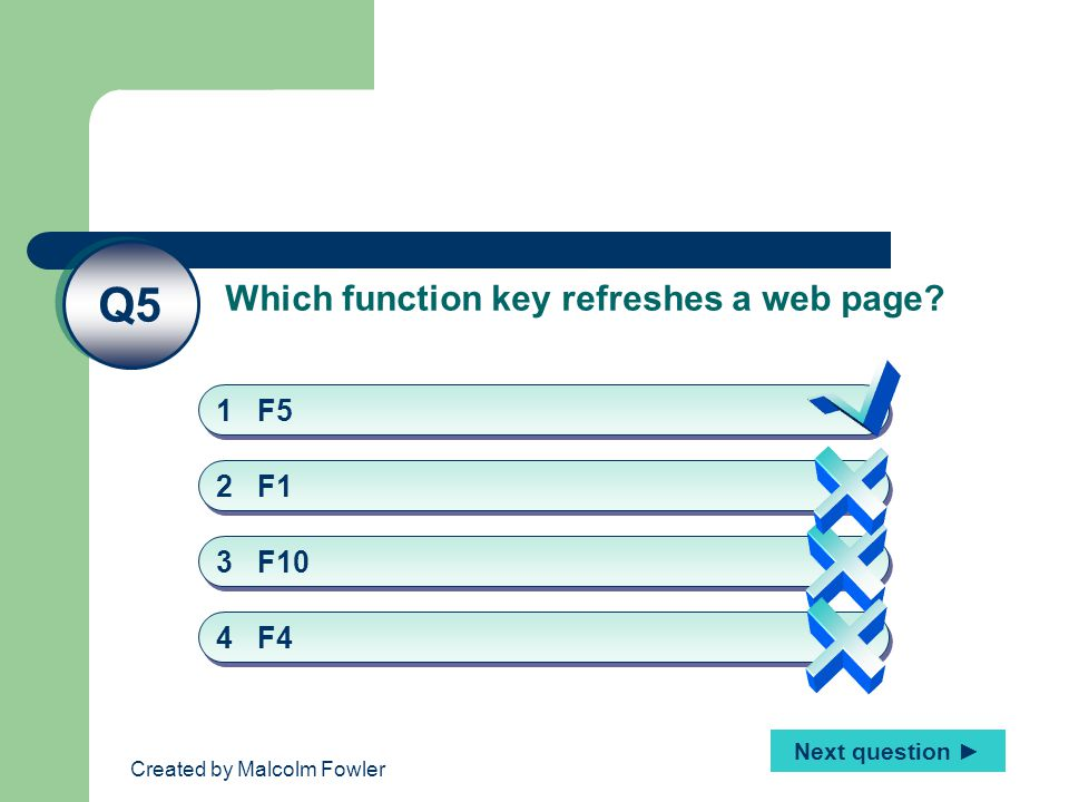 Created by Malcolm Fowler What is a hyperlink.