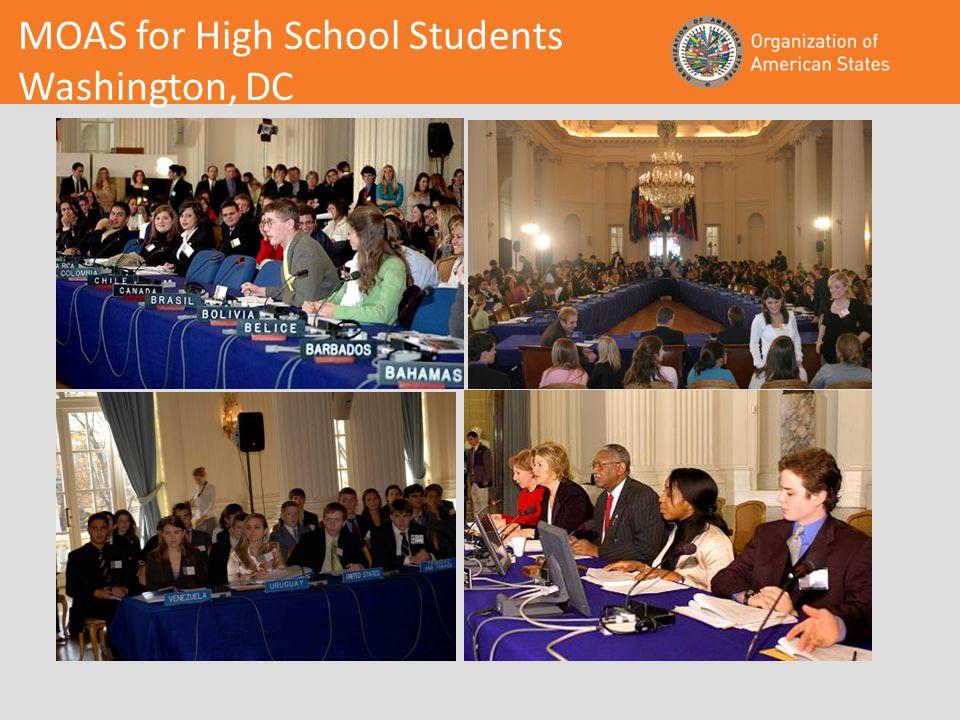 MOAS for High School Students Washington, DC